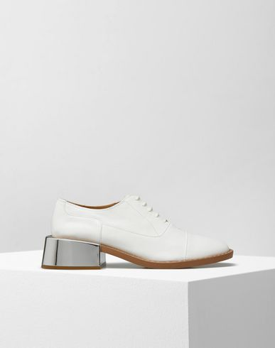 MM6 MAISON MARGIELA Laced shoes D Derbies with mirrored heel f