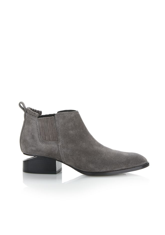 ALEXANDER WANG Boots Women KORI SUEDE OXFORD WITH RHODIUM