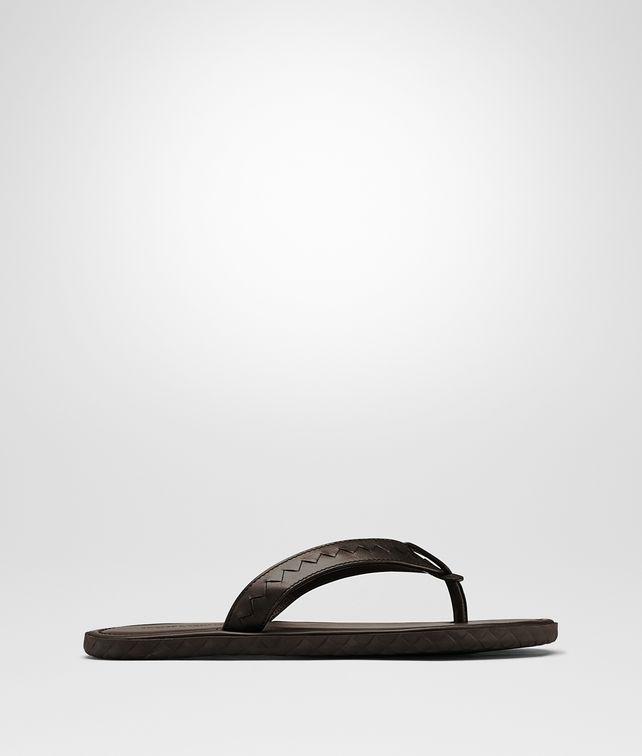 BOTTEGA VENETA PLAGE THONG IN EDOARDO CALF  Sandals Man fp