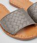 BOTTEGA VENETA RAVELLO SANDALE AUS INTRECCIATO NAPPA IN STEEL Pump oder Sandale D ap