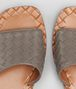 BOTTEGA VENETA RAVELLO SANDAL IN STEEL INTRECCIATO NAPPA Pump or Sandal Woman lp