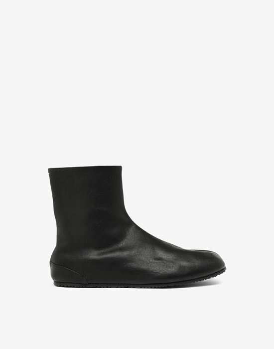 Maison Margiela Tabi Leather Ankle Boots CkTdQEAeRx