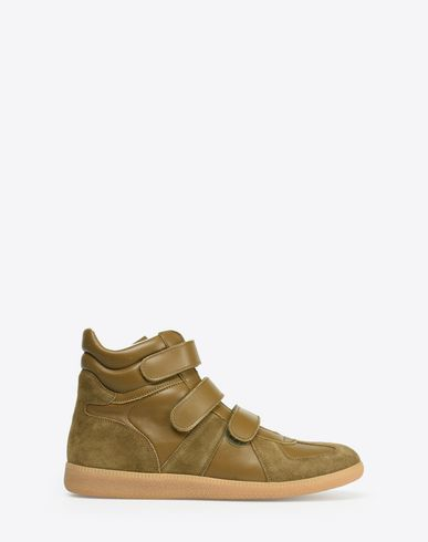 MAISON MARGIELA 22 Sneakers U High top Replica sneakers with Velcro f
