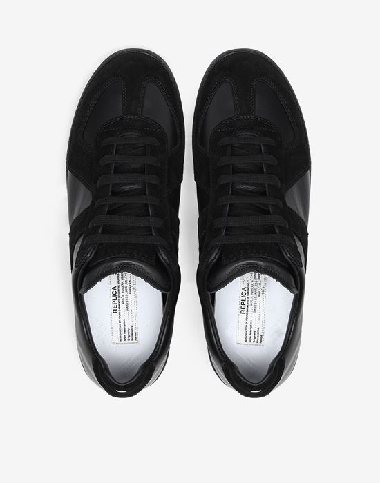 MAISON MARGIELA Low top calfskin Replica sneakers Sneakers [*** pickupInStoreShippingNotGuaranteed_info ***] a