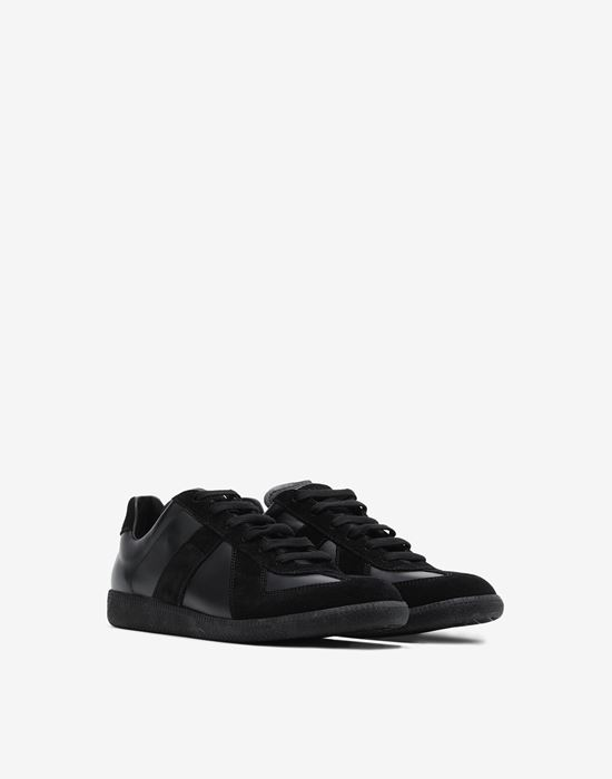 MAISON MARGIELA Low top calfskin Replica sneakers Sneakers [*** pickupInStoreShippingNotGuaranteed_info ***] r