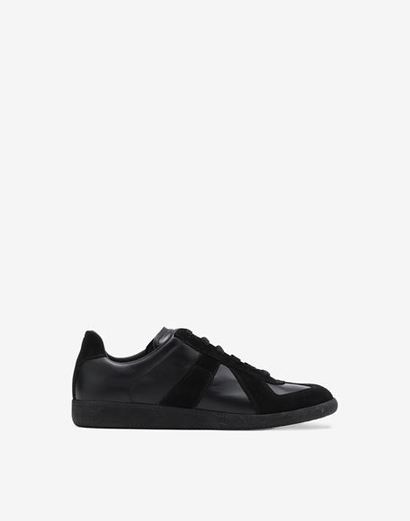 MAISON MARGIELA Low top calfskin Replica sneakers Sneakers Man f