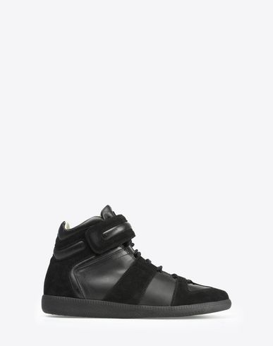MAISON MARGIELA Sneakers U High top calfskin and suede sneakers f