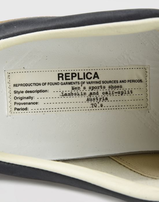 MAISON MARGIELA Low top paint drop Replica sneakers Sneakers [*** pickupInStoreShippingNotGuaranteed_info ***] b