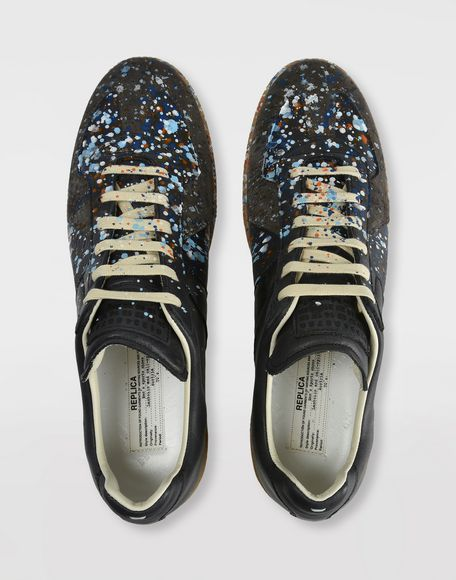 MAISON MARGIELA Low top paint drop Replica sneakers Sneakers Man e