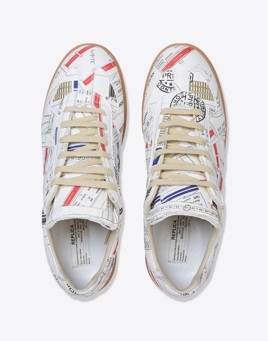 e4e65cc6cfb4 MAISON MARGIELA Low top logo Replica sneakers Sneakers       pickupInStoreShippingNotGuaranteed info