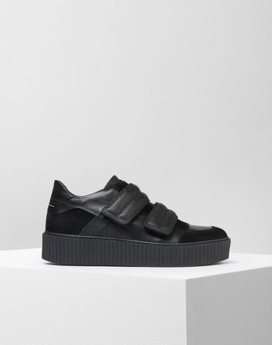 MM6 MAISON MARGIELA Sneakers D Low top calfskin sneakers f