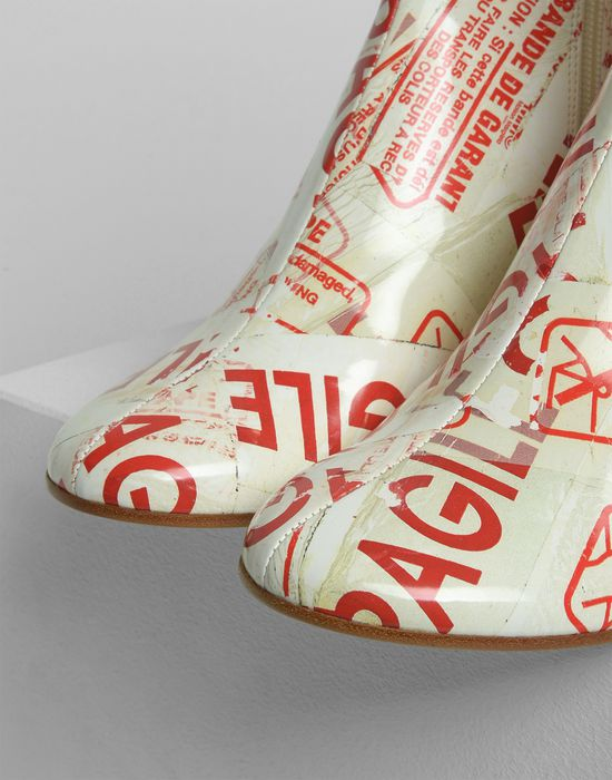 MM6 MAISON MARGIELA Flared heel FRAGILE ankle boots Ankle boots [*** pickupInStoreShipping_info ***] a
