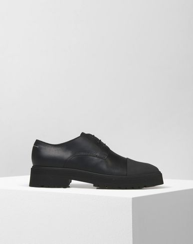 MM6 MAISON MARGIELA Laced shoes D Calfskin brogues with contrasting detail f