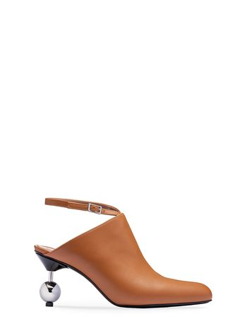 Marni Mule in calfskin with sphere heel Woman