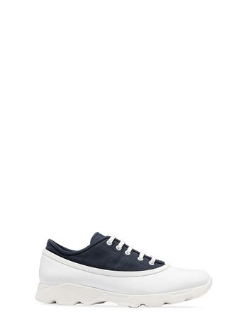 Marni Sneaker in calfskin and fabric Man