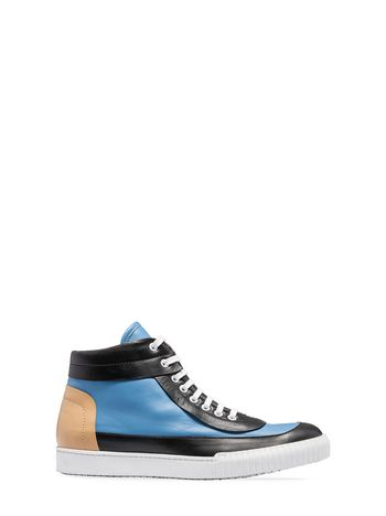 Marni High-top sneaker in calfskin Man