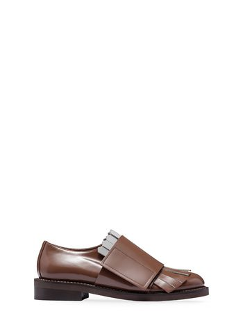 Marni Strap lace-up in calfskin Woman