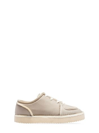 Marni MARNI OGG sneaker in gray fabric Man