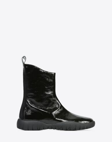 MAISON MARGIELA Tabi boots Woman Patent calfskin Scuba Tabi boots f