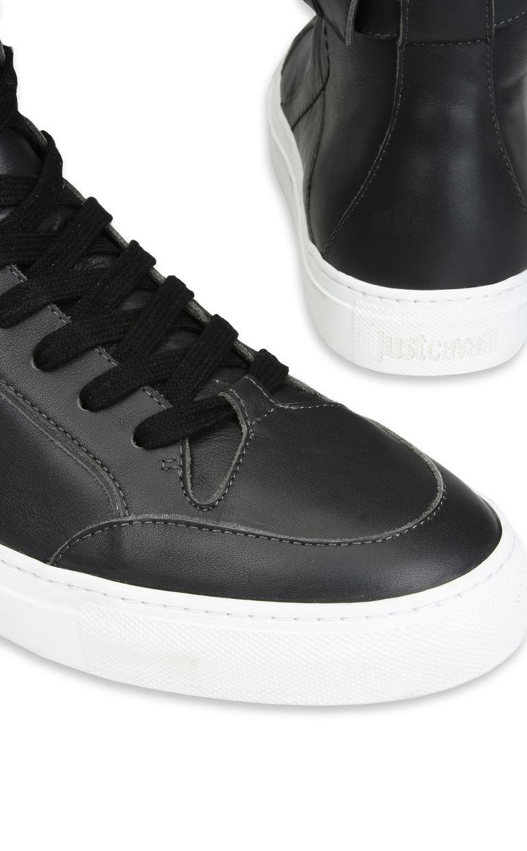 JUST CAVALLI Sneaker con tomaia alta e cinturino Sneakers U e