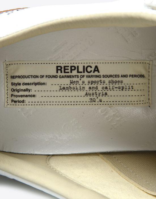 MAISON MARGIELA Sneakers «Replica» avec effet papier et stylo Sneakers Homme a