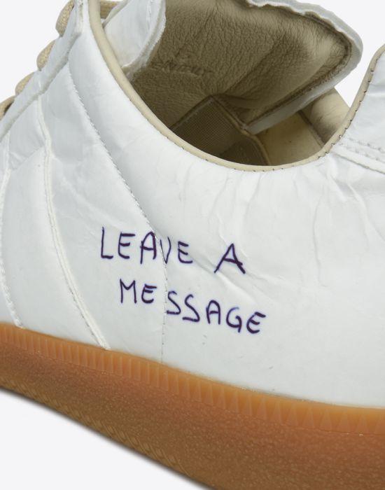 MAISON MARGIELA Sneakers «Replica» avec effet papier et stylo Sneakers Homme e