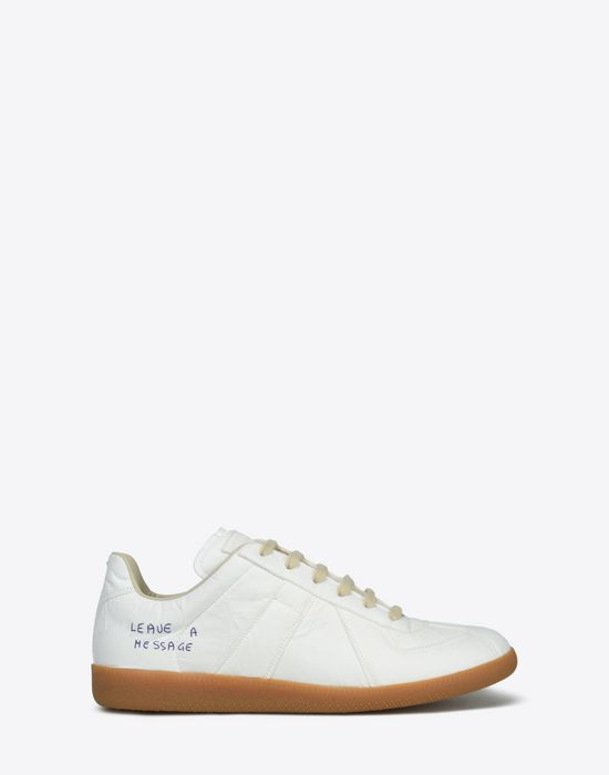 Maison MargielaReplica paper effect sneakers