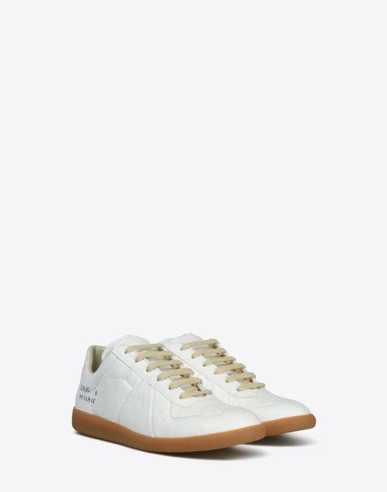 MAISON MARGIELA Sneakers «Replica» avec effet papier et stylo Sneakers Homme r