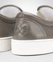 BOTTEGA VENETA DODGER SNEAKER IN STEEL INTRECCIATO NAPPA Trainers Man ap