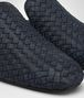 BOTTEGA VENETA SEAN SLIPPER IN DARK NAVY INTRECCIATO CALF Mocassin or Slipper U ap