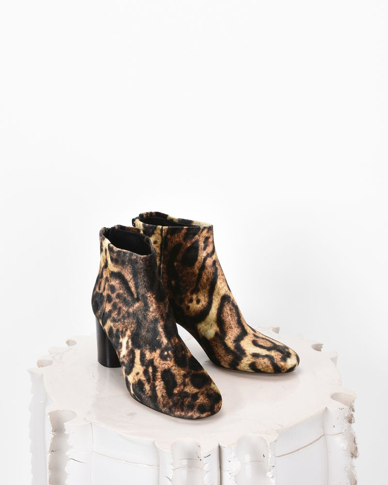 RITZA 豹纹踝靴  ISABEL MARANT