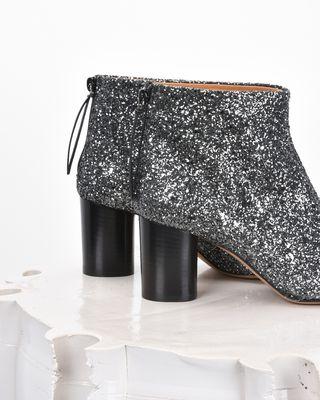 ISABEL MARANT BOOTS D RITZA glitter ankle boots  d