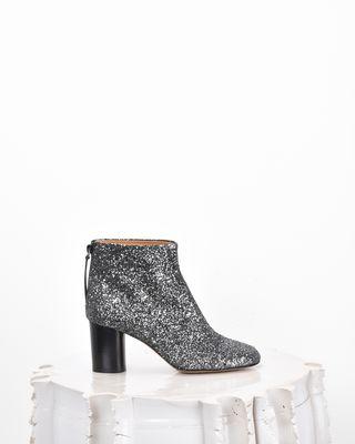 RITZA glitter ankle boots