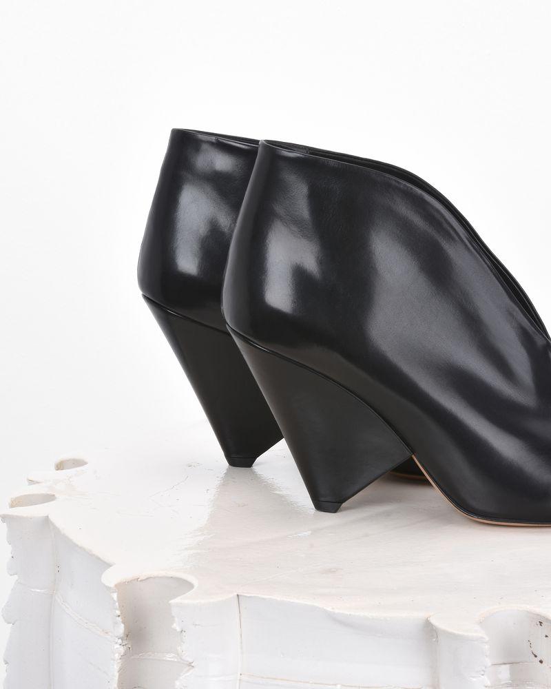 ADENN 皮革开放式踝靴  ISABEL MARANT