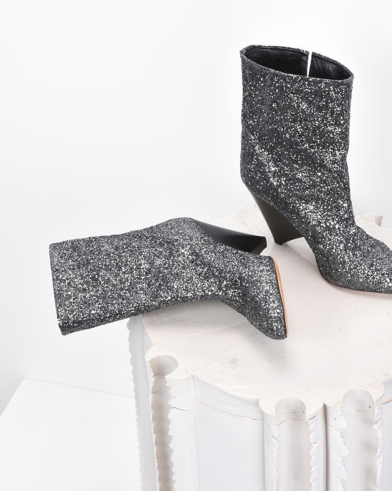 LULIANA glitter ankle boots  ISABEL MARANT