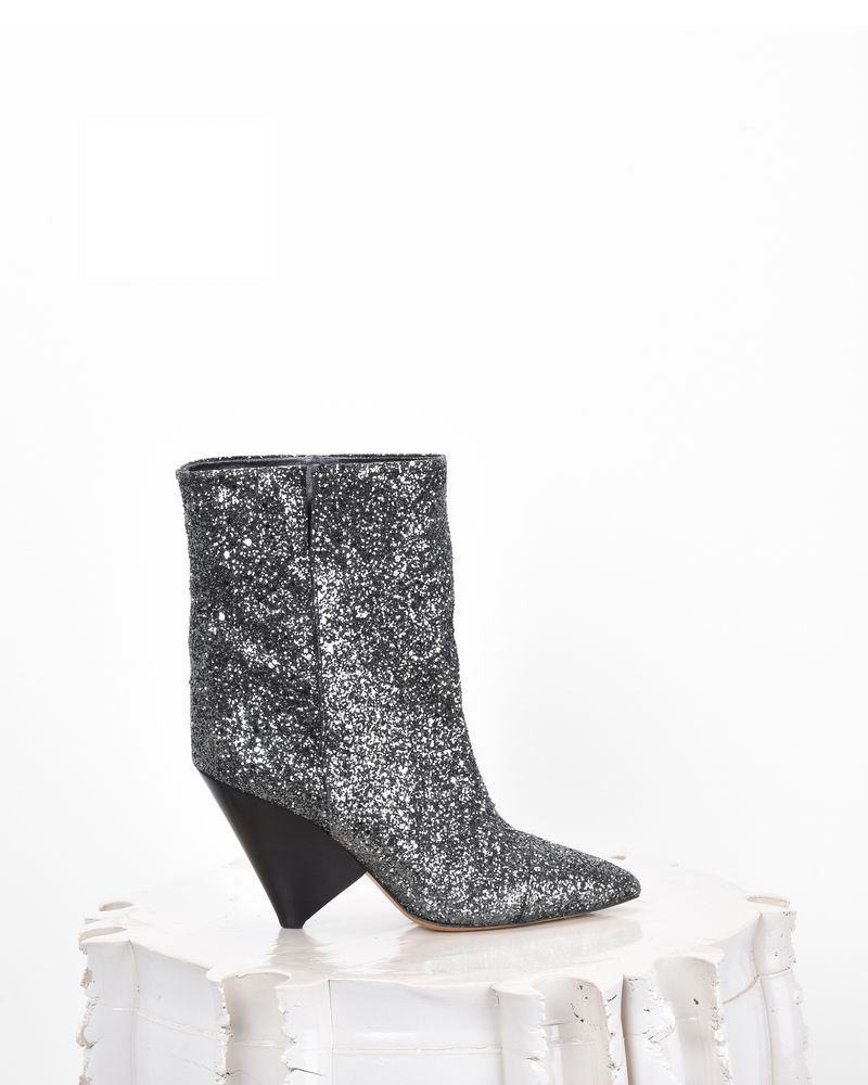 Isabel Marant Glitter Ankle Boots iFAns6mK3C