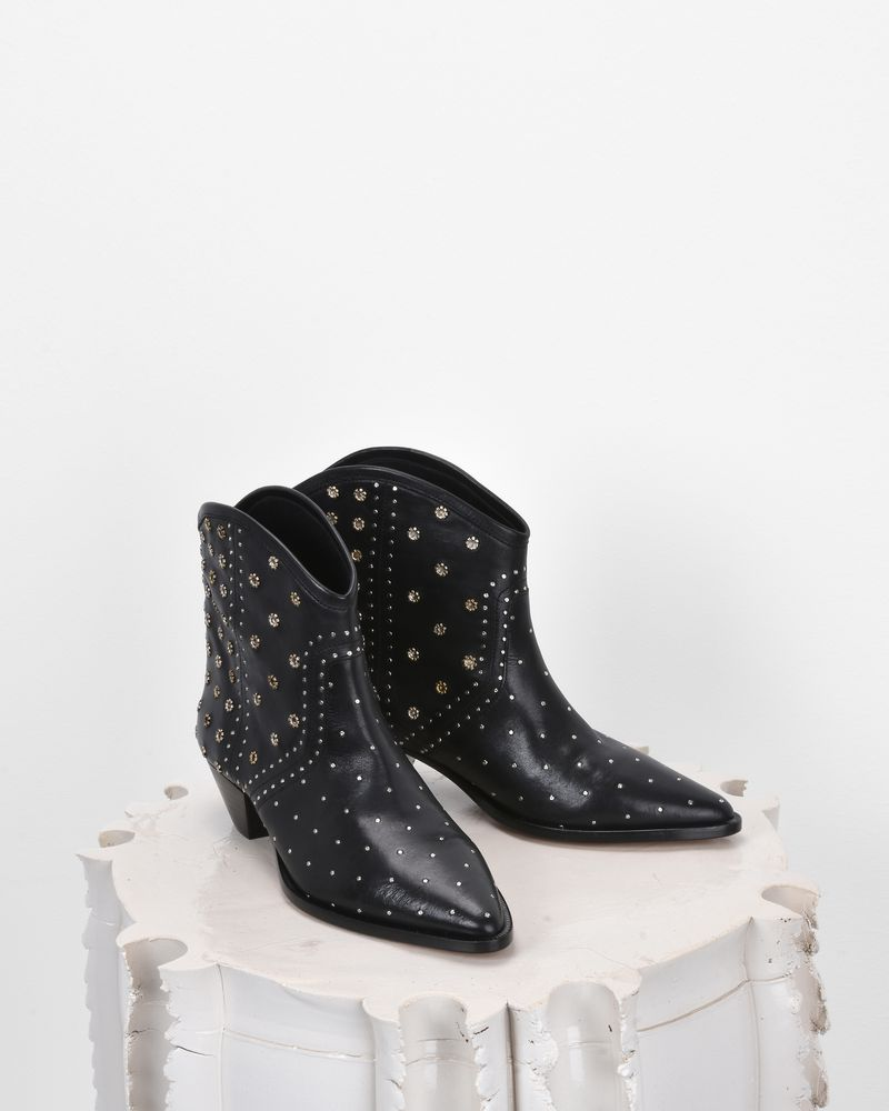DOMYA studded leather ankle boots  ISABEL MARANT