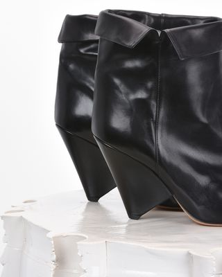 ISABEL MARANT BOOTS D LULIANA leather ankle boots  d