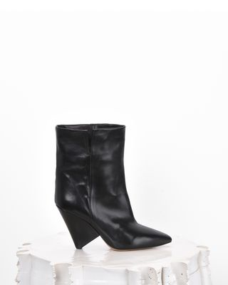LULIANA leather ankle boots