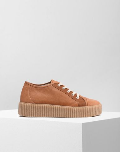 MM6 by MAISON MARGIELA Sneakers D Platform leather sneakers f