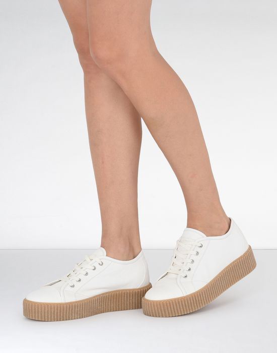 4832a93575ee MM6 MAISON MARGIELA Platform leather sneakers Sneakers       pickupInStoreShipping info