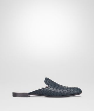 FIANDRA SLIPPER IN DENIM INTRECCIATO NAPPA