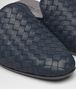BOTTEGA VENETA FIANDRA SLIPPER IN DENIM INTRECCIATO NAPPA Flat D ap