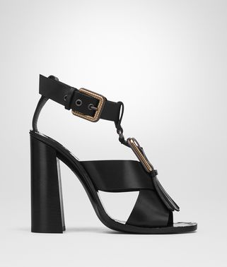 SANDALS IN NERO CALF
