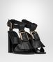 BOTTEGA VENETA SANDALS IN NERO CALF Pump or Sandal Woman rp