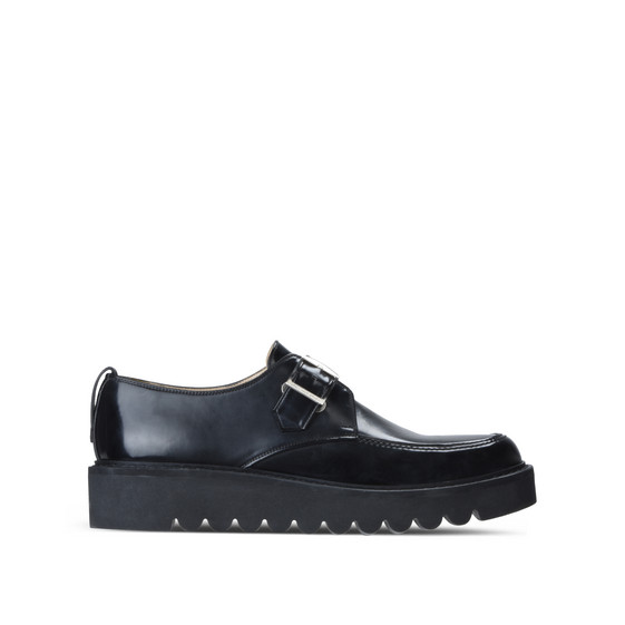Black Buckle Odette Brogue
