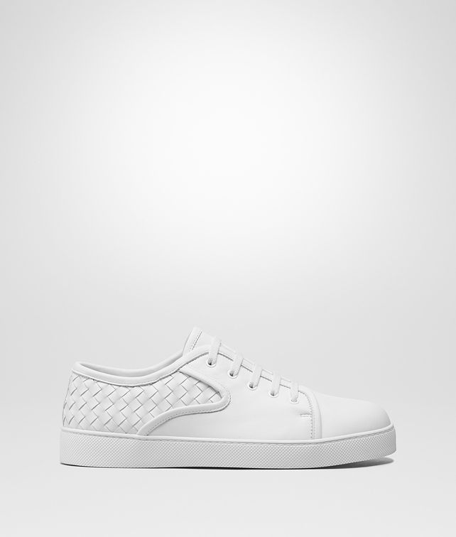 BOTTEGA VENETA DODGER LACE UP SNEAKER IN BIANCO NAPPA Sneaker or Sandal Man fp