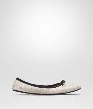 MIST NAPPA LEATHER PICNIC BALLERINA