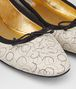 BOTTEGA VENETA MIST NAPPA LEATHER PICNIC BALLERINA Flat Woman ap