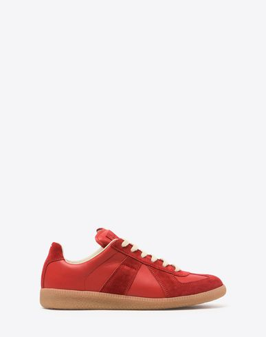 MAISON MARGIELA 22 Sneakers D Calfskin and suede Replica sneakers f